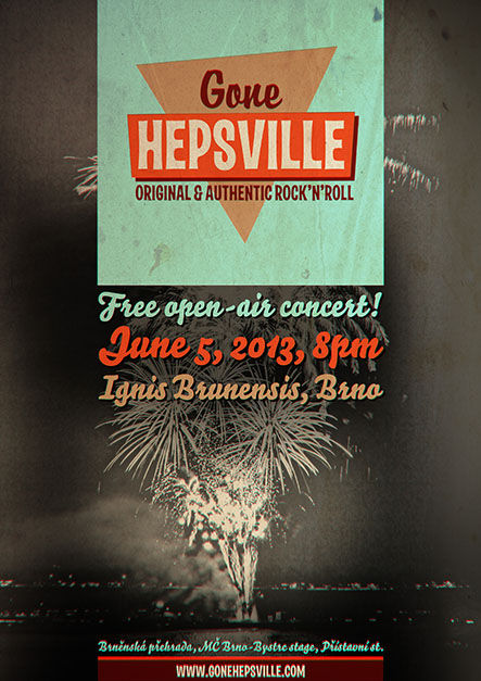 Gone Hepsville live at Ignis Brunensis (Brno, CZE), June 5, 2013, 8pm