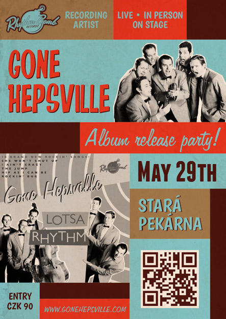 Record Release Party - Gone Hepsville - Lotsa Rhythm