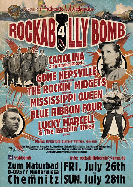 Gone Hepsville live at Rockabilly Bomb (Niederwiesa, DE)